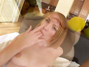 Perky Tits Teenager Rides The Big Dick To Orgasm