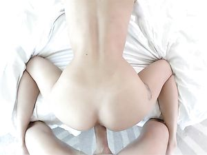 Young Slut Fucked And Facialized By A Big Cock