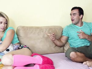 Girlfriend Gives Her Man Her Ass For The First Time