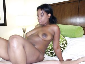 Curves Are Sexy On The Black Chick Taking White Dick