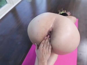 Oiling And Fucking A Slutty Yoga Teen