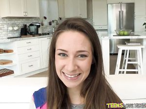 Cassidy Klein Falls In Love With His Big Cock