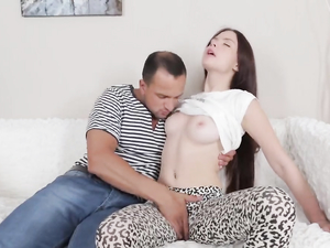 Pretty Girl Erotically Pounded In The Ass