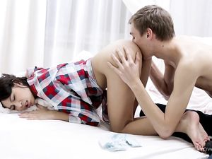 Young Couple 69s Until They Are Both Wild With Desire