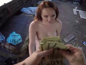 Paying For Pussy Is Fun With The Curvy Redhead