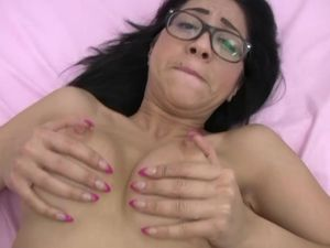 Curvy Latina Cunt Filled With A Thick Creampie