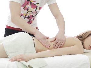 Massage Gone Wild With A Lovely 18 Yo Babe