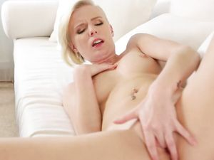 Cum Shot After Doggy Style For Blonde Princess